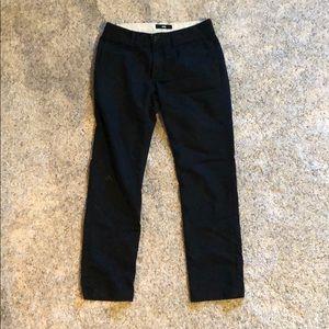 Vans Black Chino Pants